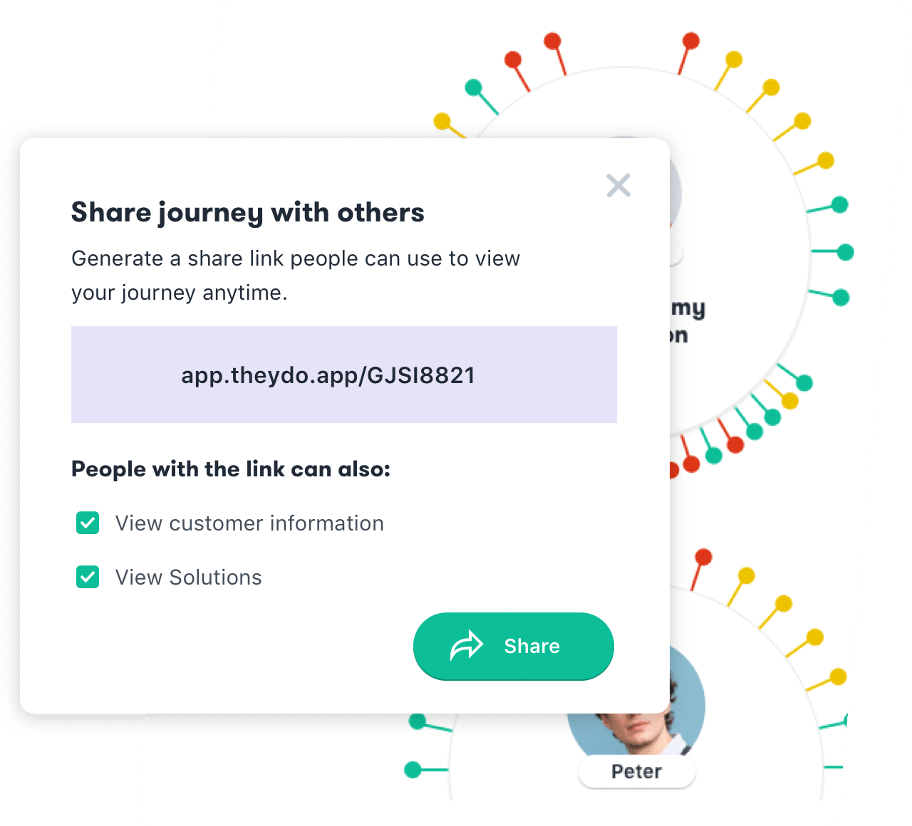 share customer journeys