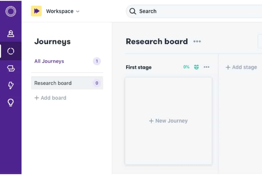 Manage your Journeys with Journey Boards